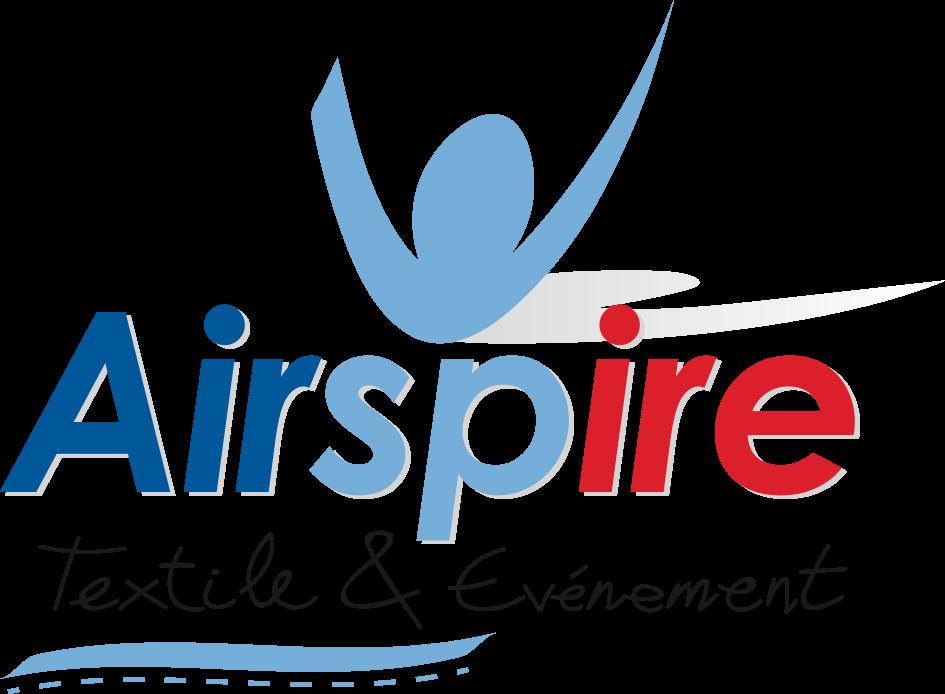 Airspire partenaire textile de votre évènement