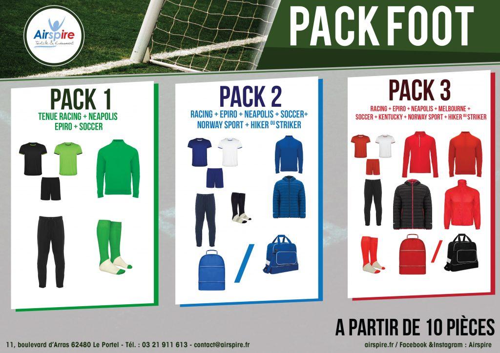 Vêtements personnalisés football