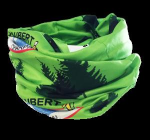 tour de cou en sublimation totale vert