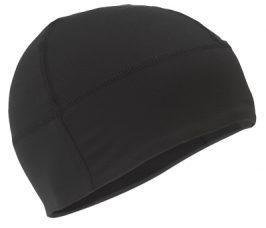 bonnet noir lycra pour athlétisme