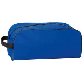 sac à chaussures bleu